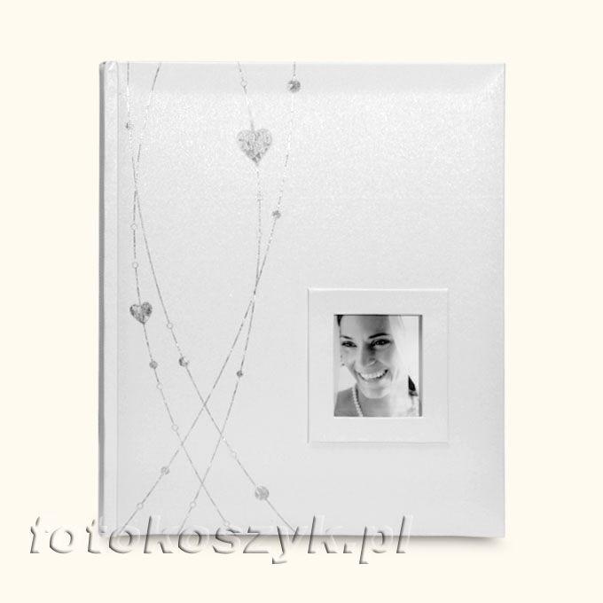 Album Romantic Biel (tradycyjny 20 kremowych stron) Gedeon DBCS10 Romantic k