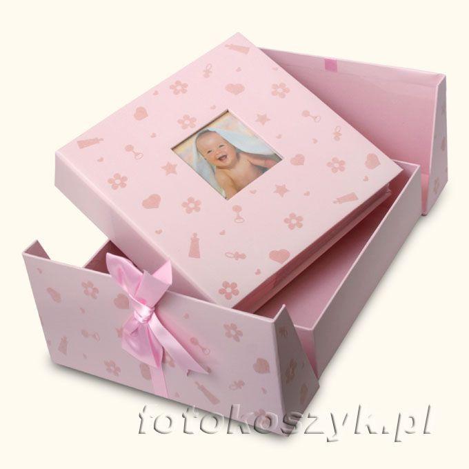 Album Dziecięcy Baby Nursery R (200 zdjęć 10x15) Innova Q418746M róż