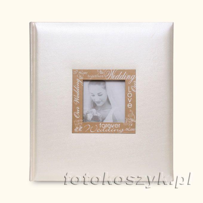 Album Ślubny Sympaty Krem (tradycyjny 60 białych stron) Lotmar 2689