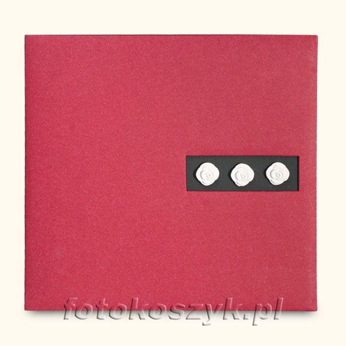 Album Mascagni Czerwony (tradycyjny 60 czarnych stron)  5061