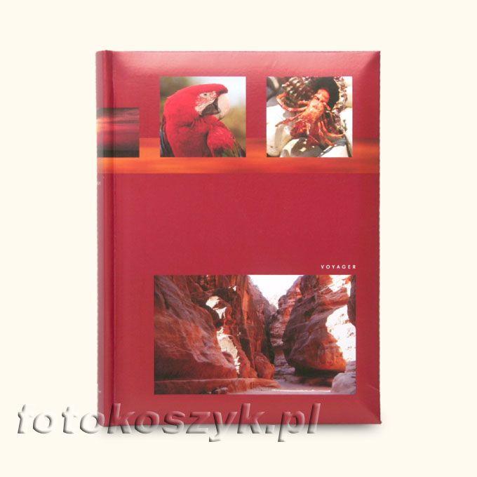 Album Voyager Czerwony (200 zdjęć 10x15) Fandy 3023