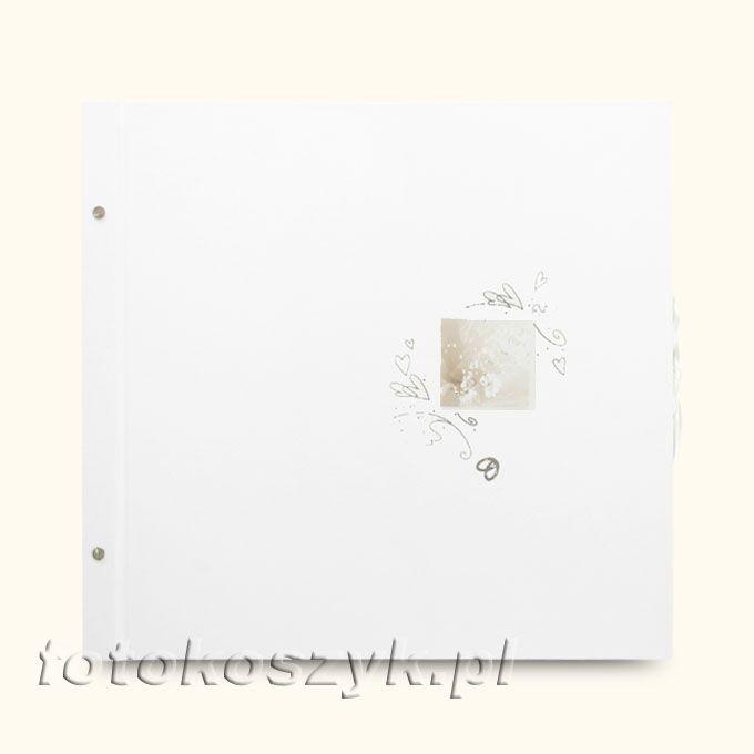 Album Wally Biały Bukiet XXL (tradycyjny 40 czarnych stron)  3133