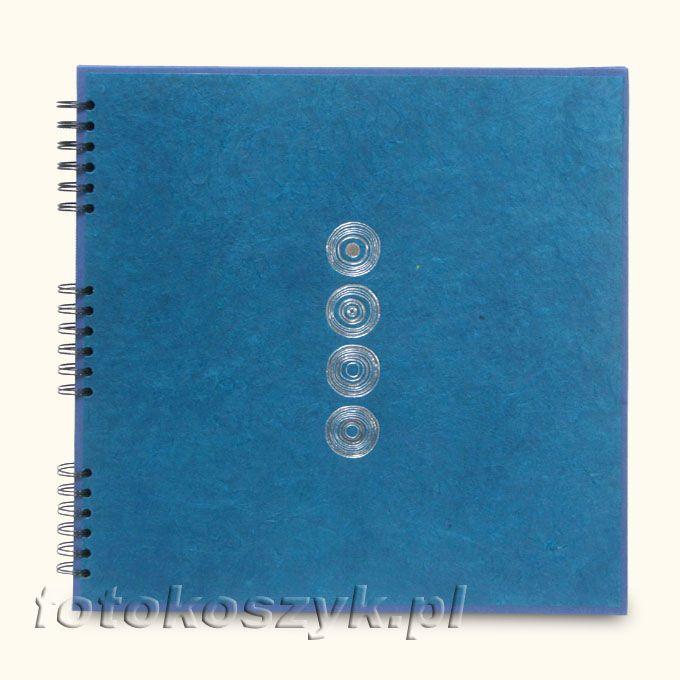 Album Panodia Lazuli Niebieski XL (tradycyjny 60 czarnych stron) Panodia PL532904