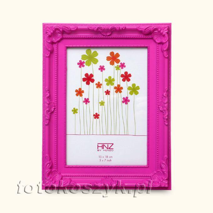 Ramka Henzo Colour Barok Róż (na zdjęcie 10x15) Henzo 80.361.12