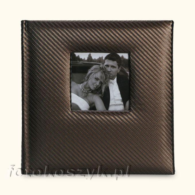Album Karbon Brązowy (200 zdjęć 10x15) Gedeon 5718