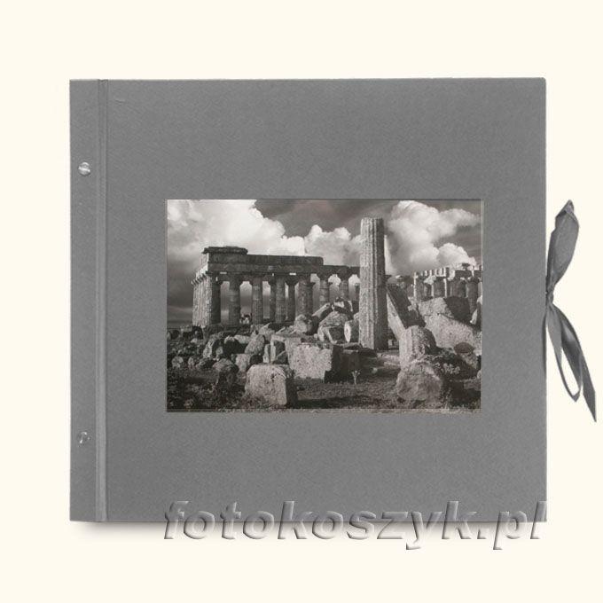 Album Wally Klasyczny Szary Ruiny (tradycyjny 40 czarnych stron)  3290