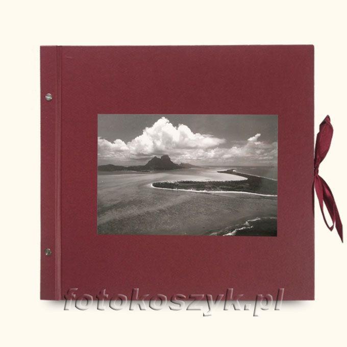 Album Wally Klasyczny Bordo Laguna XXL (tradycyjny 40 czarnych stron)  3285