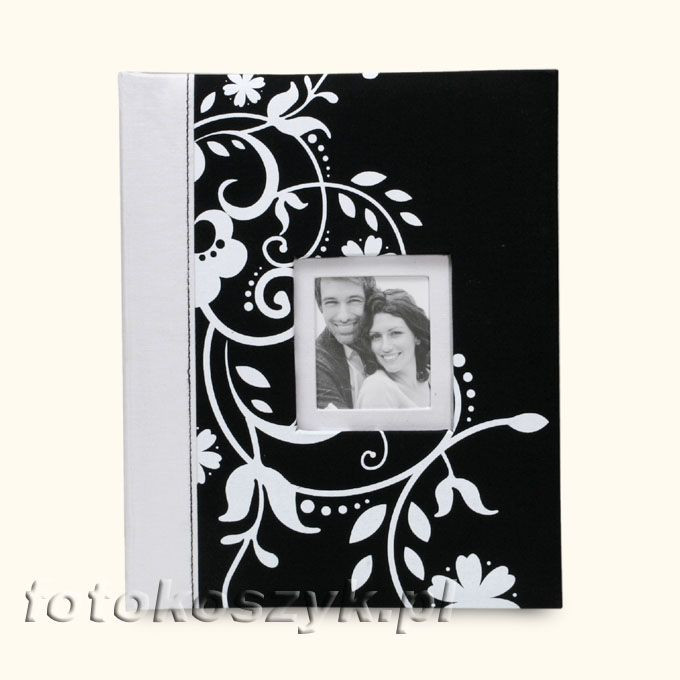 Album Decorative Czerń (tradycyjny 20 czarnych stron) Fandy 4588