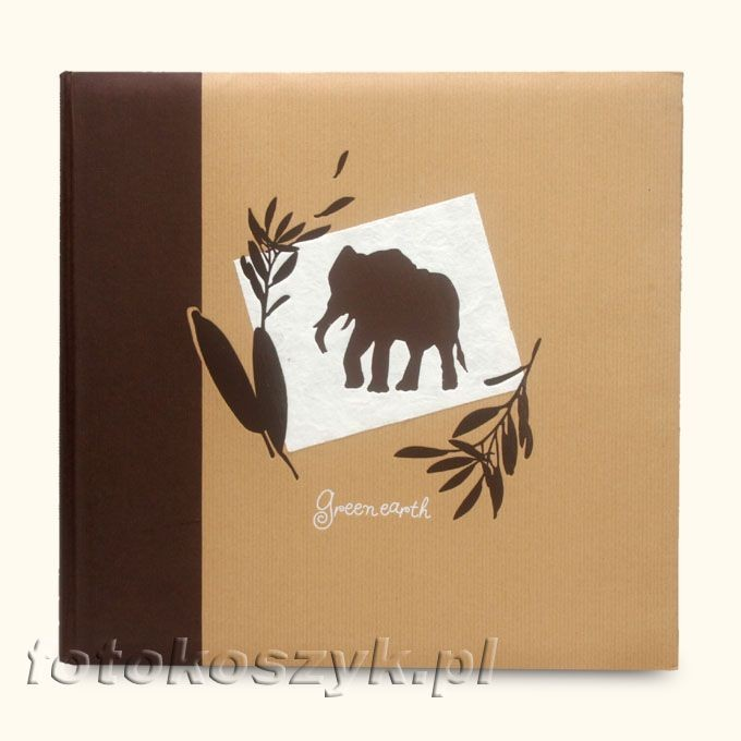Album Panodia Greenearth Brązowy (tradycyjny 100 brązowych stron) Panodia 3200