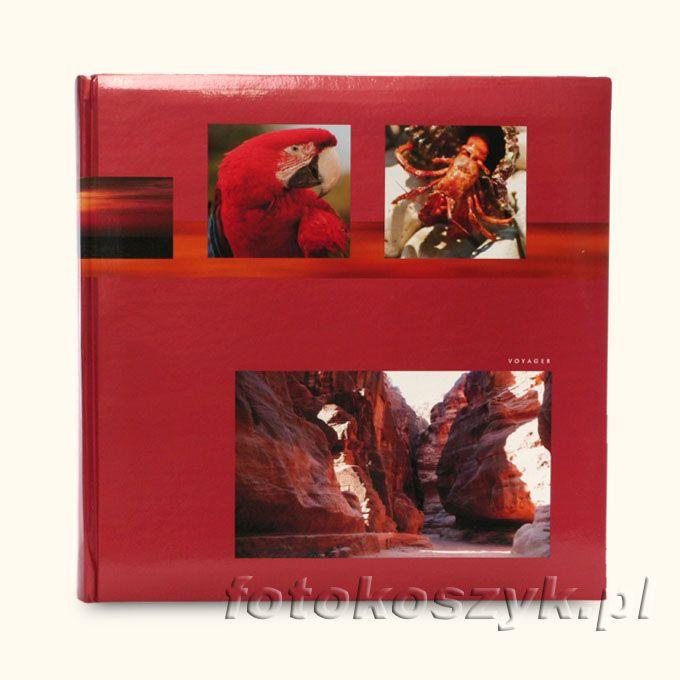 Album Voyager Czerwony (500 zdjęć 10x15) Fandy 232 142c