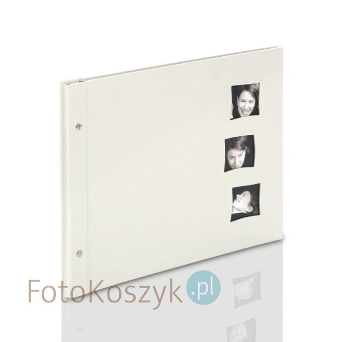 Album Goldbuch Chromo XXL Krem 3w (tradycyjny 40 czarnych stron)