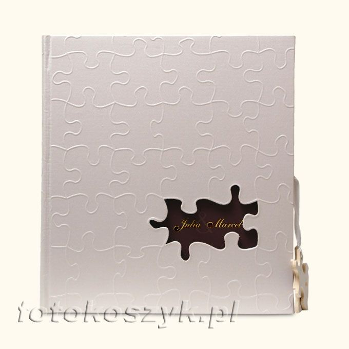 Album Ślubny Walther Puzzle (tradycyjny 60 białych stron) Walther UH-173