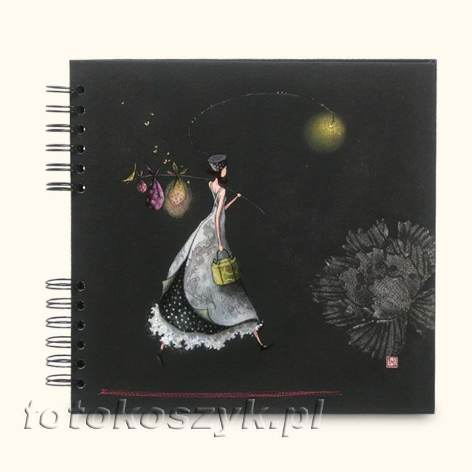 Album Panodia Gaelle Czarny (tradycyjny 50 czarnych stron) Panodia 4118