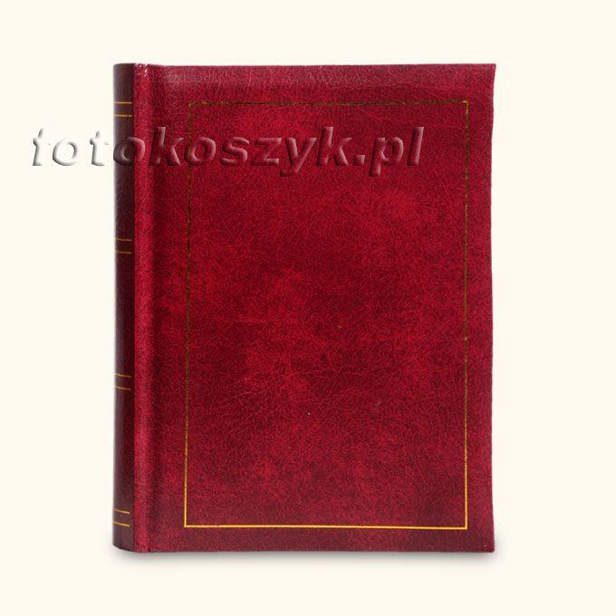 Album Classic 4 Czerwień (50 zdjeć 13x18) Poldom B-13x18/50 CLASSIC-4 bo