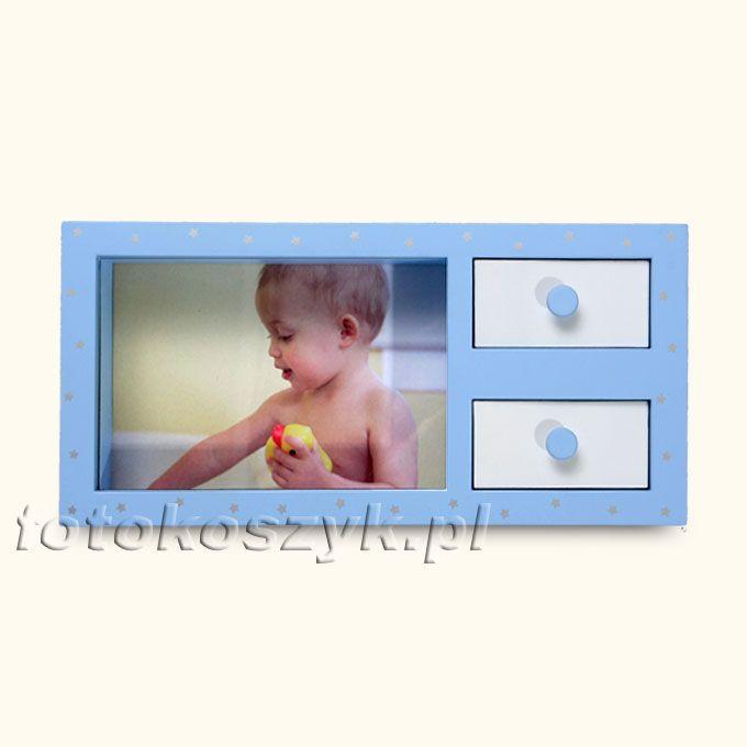 Ramka Henzo Stars Komódka Niebieska (na zdjęcie 10x15 cm) Henzo 3379
