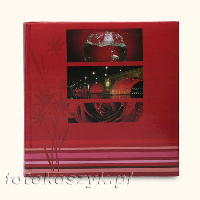 Album Bridges Czerwony (200 zdjęć 10x15) Fandy 5042
