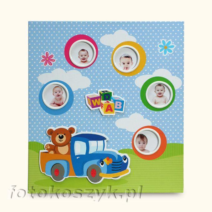 Album Baby-7A Auto (200 zdjęć 10x15) Gedeon KD46200WB Baby-7A auto