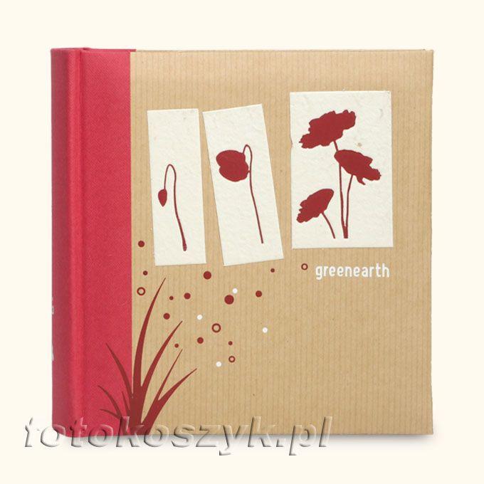 Album Panodia Greenearth Czerwony (100 zdjęć 10x15) Panodia 270661