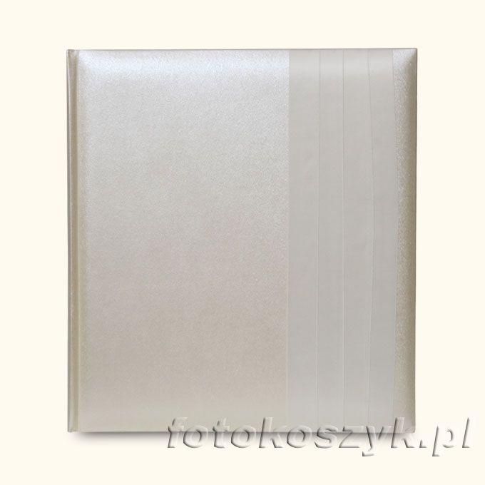 Album Ślubny Shiny Krem (tradycyjny 60 białych stron) Lotmar 2729