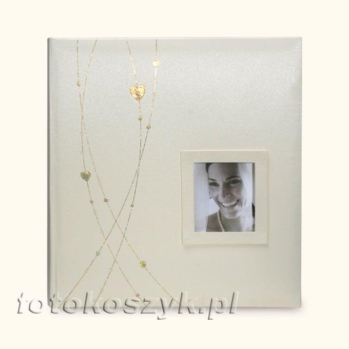 Album Romantic Krem XL (tradycyjny 60 czarnych stron) Gedeon DBCL ROMANTIC(B)k