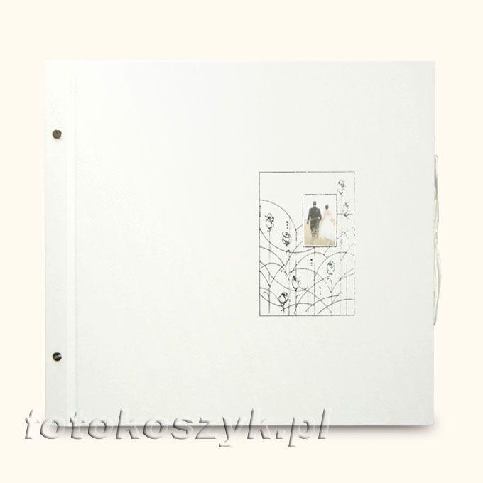 Album Wally Biały Para XXL (tradycyjny 40 czarnych stron)  3134