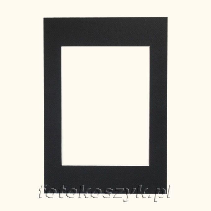 Czarne Passe-partout do ramki 10x15 inni producenci 4613