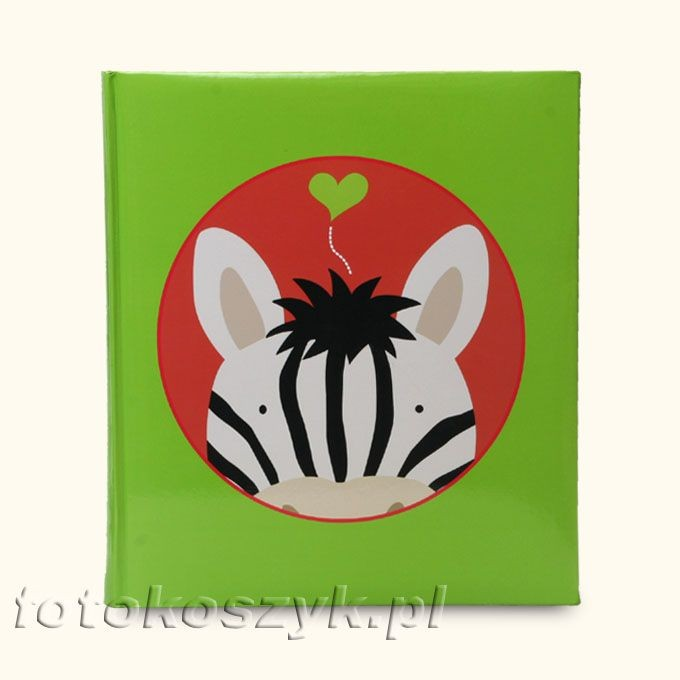 Album Henzo Jungle XL Zebra (tradycyjny 100 kremowych stron) Henzo 10.130 ze