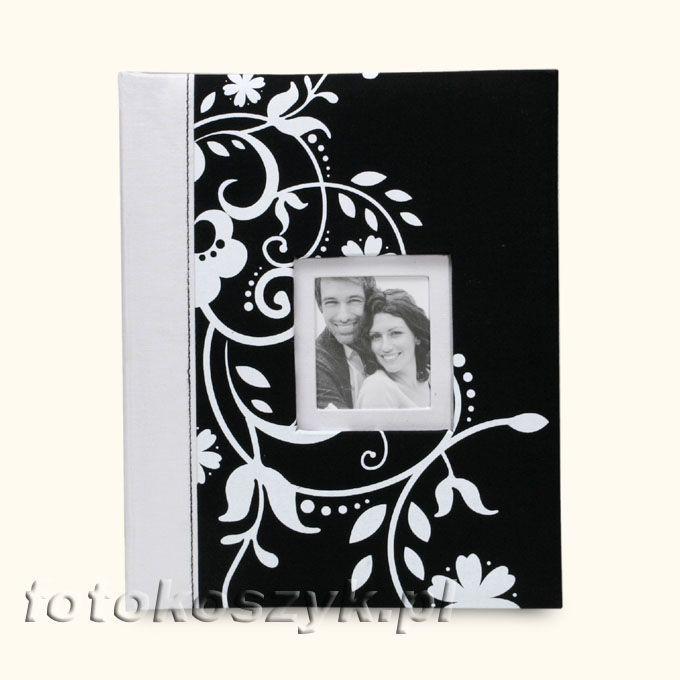 Album Decorative Czerń (tradycyjny 20 białych stron) Fandy KC-10S