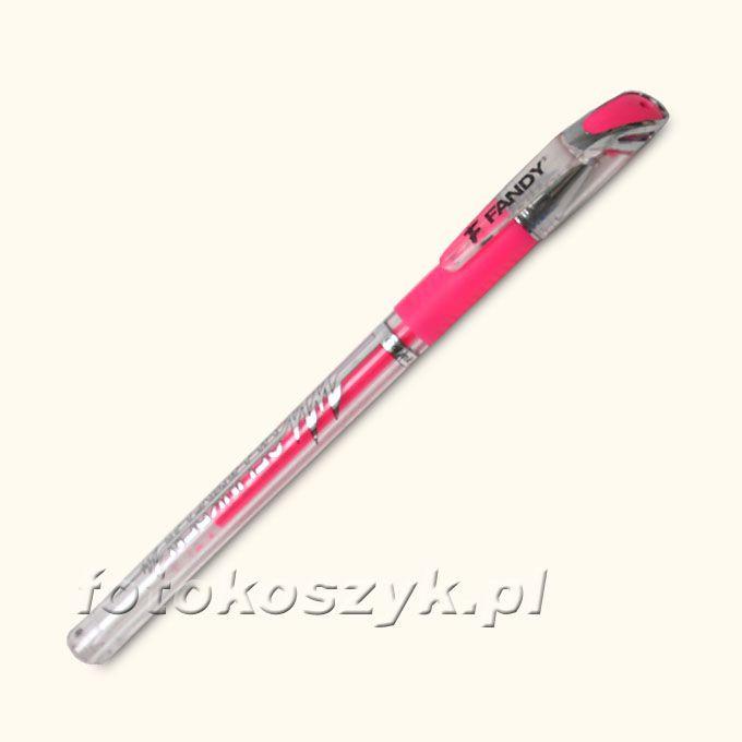 Różowy Długopis Żelowy Fandy Fandy 3757