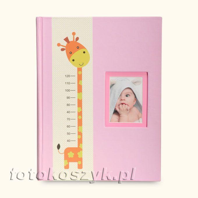 Album Dziecięcy Żyrafa R (200 zdjęć 10x15) Fandy M146200(CDS)CHART[R]
