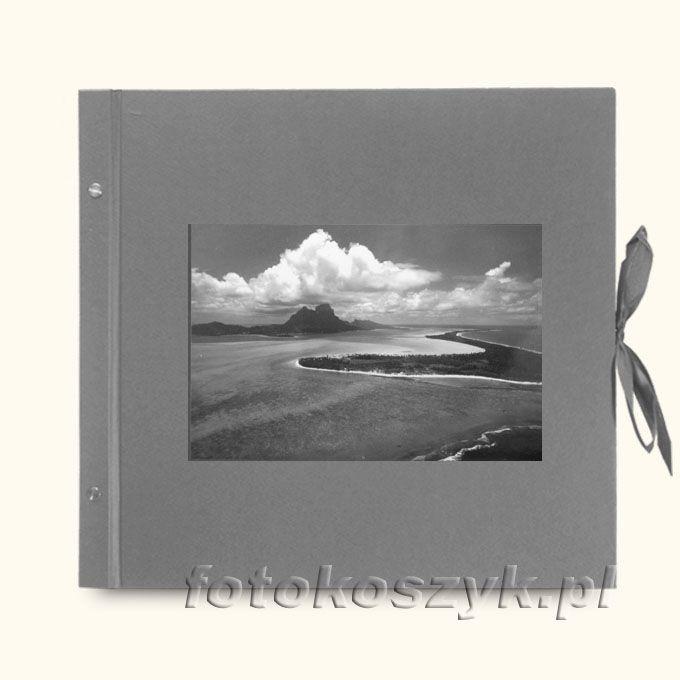 Album Klasyczny Szary Laguna XXL (tradycyjny 40 czarnych stron)  3291