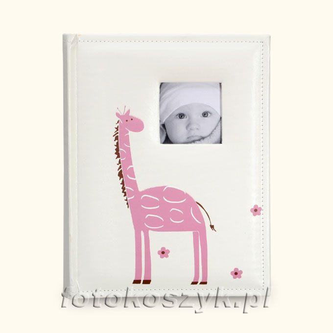 Album Dziecięcy Żyrafa Różowy (200 zdjęć 10x15) Lotmar 3219