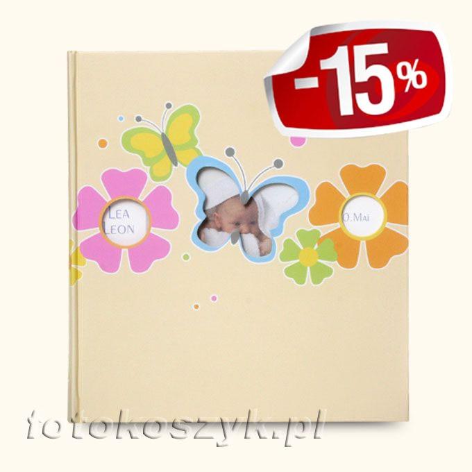 Album Dziecięcy Walther Butterfly (tradycyjny 60 białych stron)