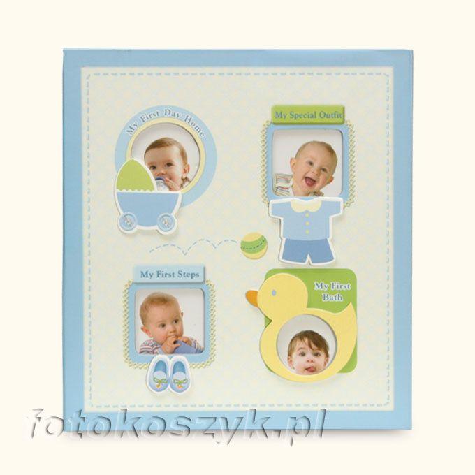 Album Dziecięcy Baby-2 Niebieski (120 zdjęć 10x15) Gedeon PP46120 Baby-2 n