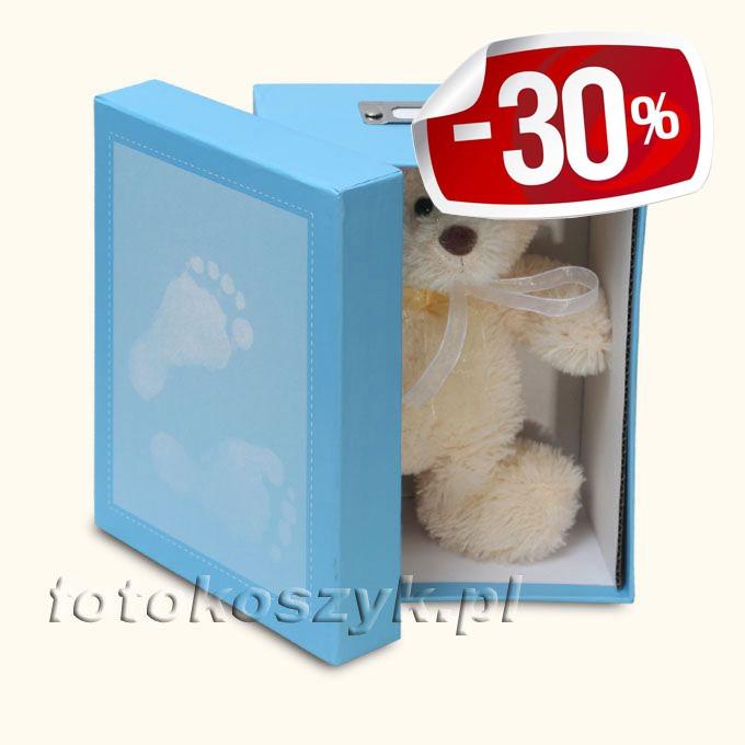 Pudełko na Zdjęcia Steps N (na 700 zdjęć 10x15) + Pluszowy Miś