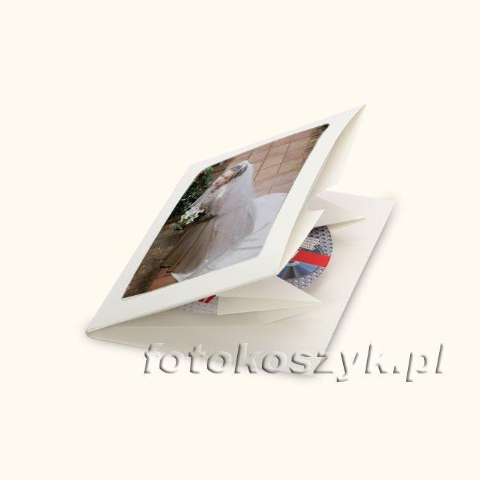 Etui JakeBox Białe DVD (na płytę i zdjęcie)  inni producenci 2360