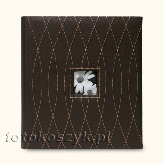 Album Dekor Oval Ciemny XL (tradycyjny 60 białych stron) Gedeon 4268