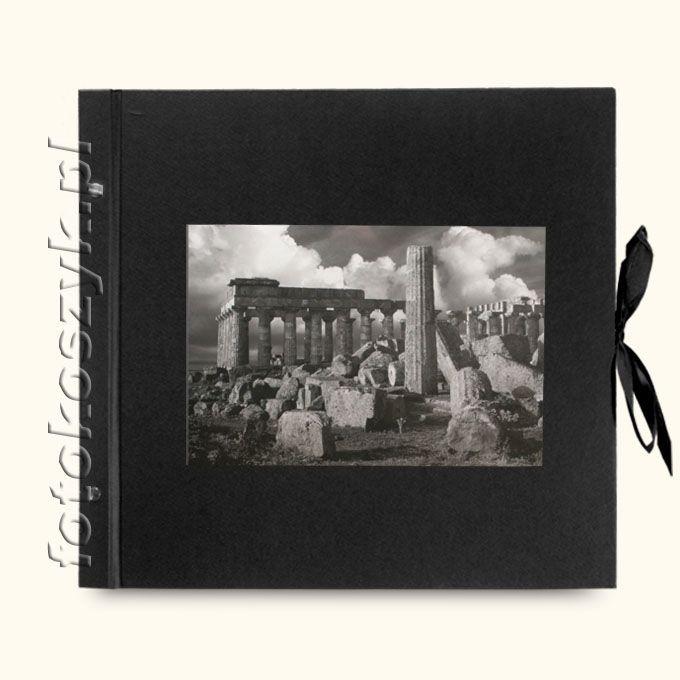 Album Wally Klasyczny Czarny Ruiny (tradycyjny 40 czarnych stron)  3296