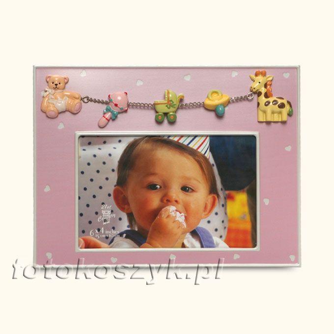 Ramka Dziecięca ABC Pozioma R (na zdjęcie 10x15) Gedeon 2453