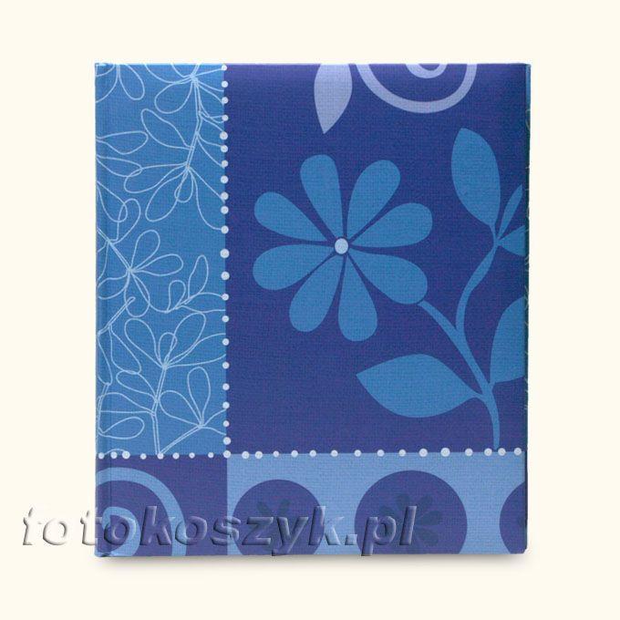 Album Henzo Flower Festival Niebieski XL (tradycyjny 100 kremowych stron) Henzo 98.200.07