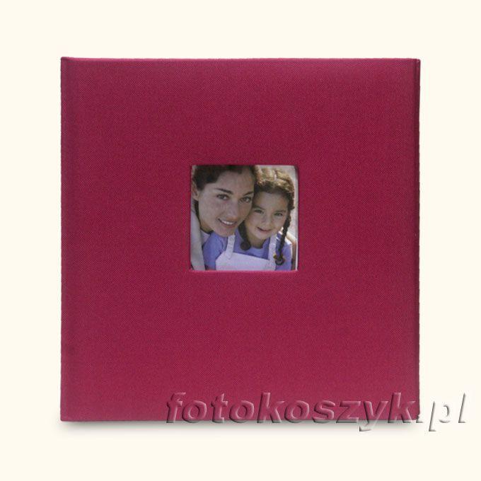 Album Cotton Mały Bordowy (tradycyjny 40 kremowych stron) Zep 5396