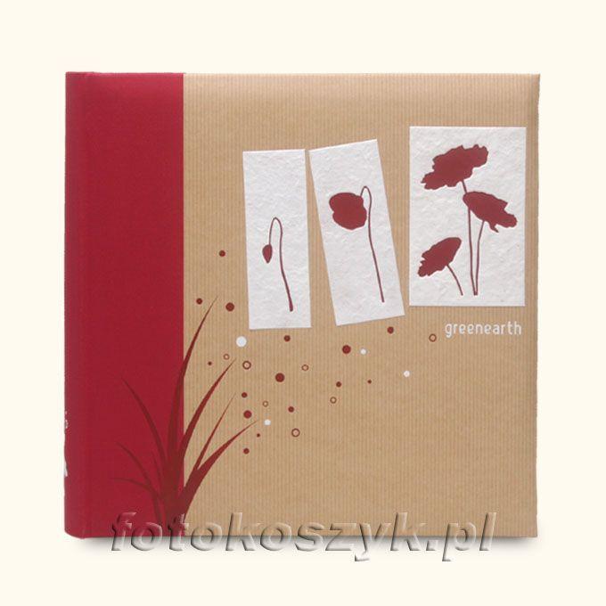 Album Panodia Greenearth II Czerwony (600 zdjęć 10x15) Panodia 270670