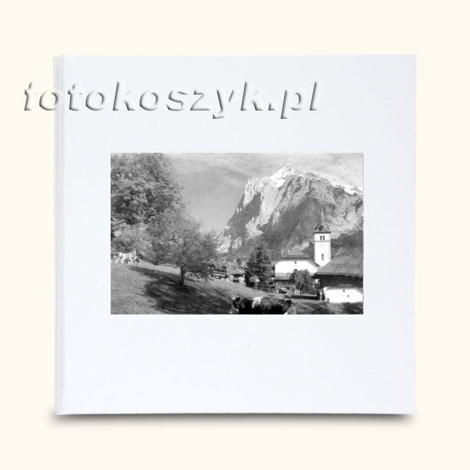Album Wally Klasyczny Biel Kościół (tradycyjny 40 czarnych stron)  3281