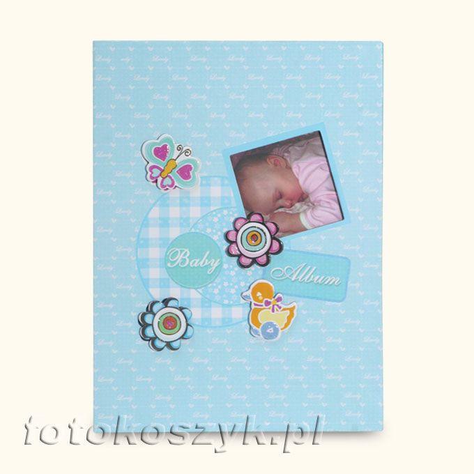 Album Dziecięcy Good Night Niebieski (200 zdjęć 9x13) Fandy B-35200S(CB)N