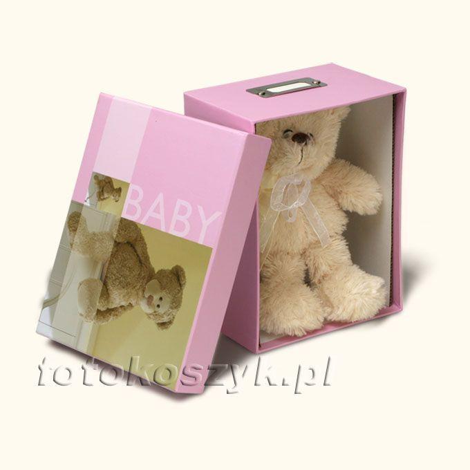 Pudełko na Zdjęcia Bobby R (na 700 zdjęć 10x15) + Pluszowy Miś Henzo 19.717.12
