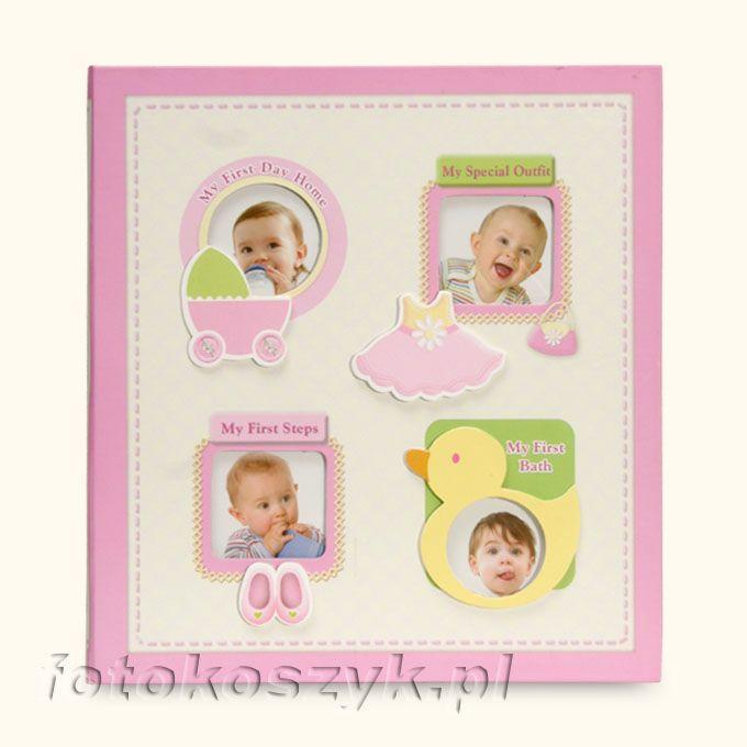 Album Dziecięcy Baby-2 Róż (120 zdjęć 10x15) Gedeon PP46120 Baby-2 r
