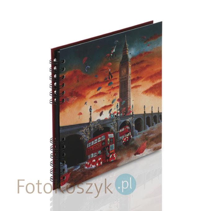 Album Panodia Big Ben (tradycyjny 40 czarnych stron)