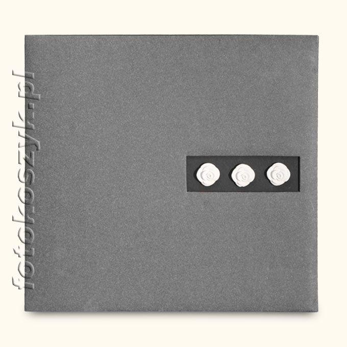 Album Mascagni Szary (tradycyjny 60 czarnych stron)  5063