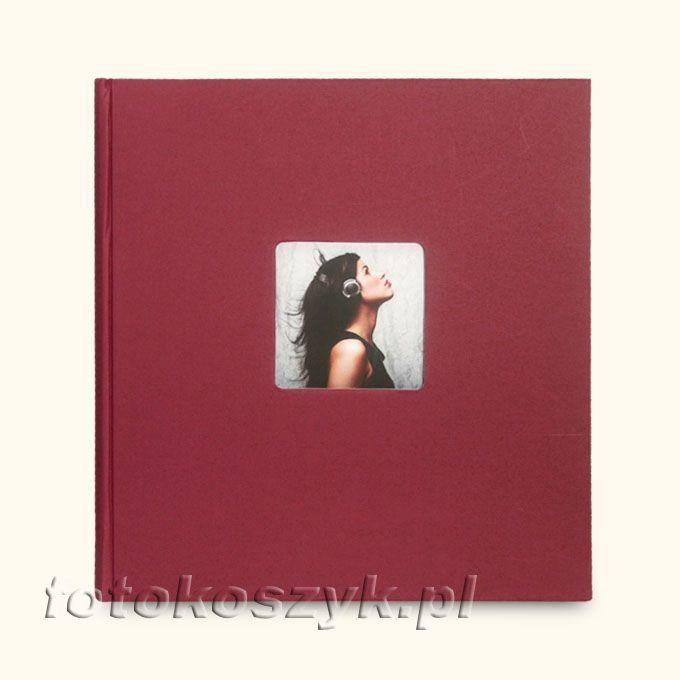 Album Goldbuch Living Bordowy (tradycyjne 100 białych stron) Goldbuch 5665