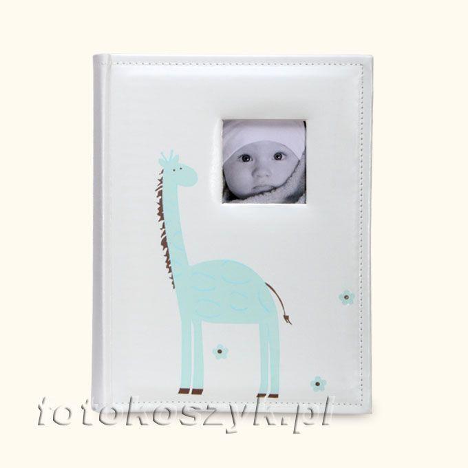 Album Dziecięcy Żyrafa Niebieski (200 zdjęć 10x15) Lotmar 3220